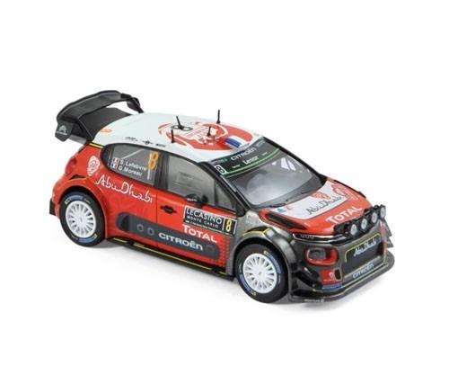Macheta Auto Norev, Citroen C3 WRC - S.Lefebvre/G.Moreau - Monte Carlo 2017 1:43