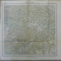 Ludesd si Petroseny// harta Serviciul Geografic Armatei 1916