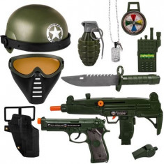 Set soldat Fortele speciale - mitraliera si accesorii