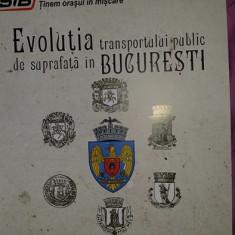 Evolutia transportului public de suprafata in Bucuresti - album