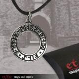 Pandantiv argint Witch Rune