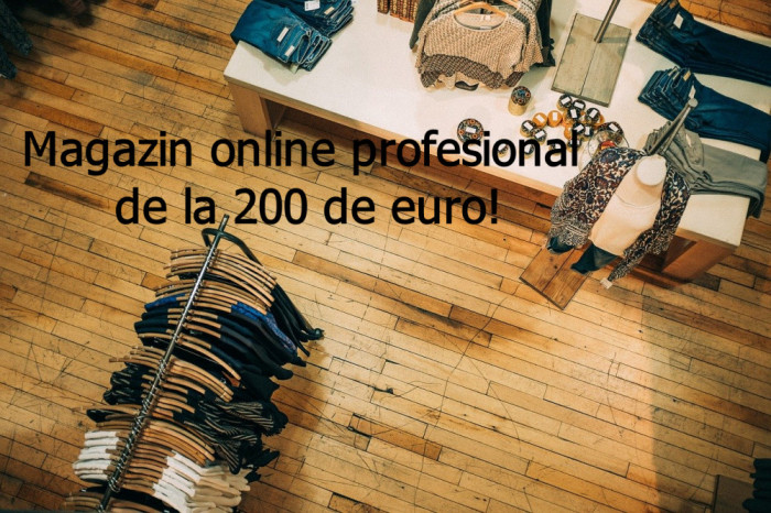 Magazin online profesional in Wordpress(Woocommerce) sau Prestashop!