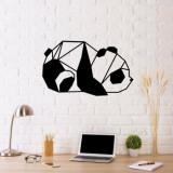 Decoratiune pentru perete, Ocean, metal 100 procente, 55 x 33 cm, 874OCN1027, Negru