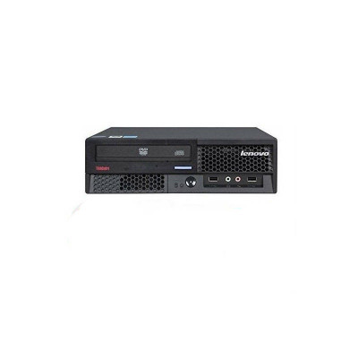 Sistem desktop Lenovo ThinkCentre M58p Intel Core 2 Duo E8400 4GB DDR3 120GB SSD DVD Windows 10 Home Black - Refurbished foto