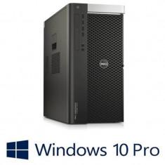 Workstation refurbished Dell Precision T7810, 2x Xeon E5-2609 v3, Win 10 Pro
