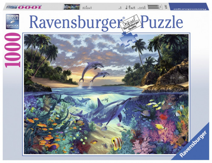Puzzle Golful Coralilor, 1000 Piese