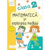 Matematica si explorarea mediului. Clasa a II-a partea I (E1) Caiet de lucru exercitii, probleme, probe de evaluare varianta EDP (Pitila, Mihailescu),