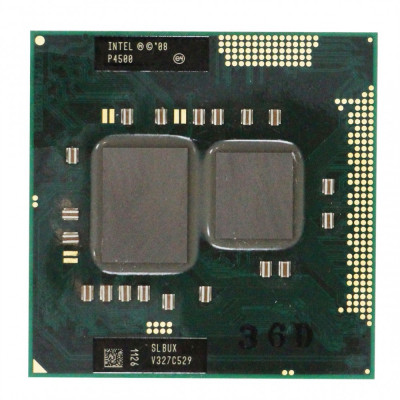 procesor laptop Intel® Celeron  P4500 SLBNL Socket PGA988 foto
