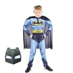 Costum Batman cu muschi pentru copii, S, 3 - 5 ani