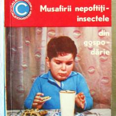 """MUSAFIRII NEPOFTITI - Insectele din gospodarie"", Dr. I. Manolescu, 1969"