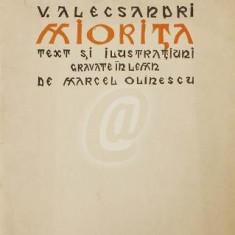 Miorita -Text si ilustratiuni gravate in lemn