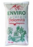 Dolomita, supliment mineral 100% natural pentru horticultura si legumicultura cu continut ridicat de Ca + Mg