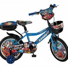 """Bicicleta copii UMIT Racer ,culoare Albastru, roata 14"""" ,otelPB Cod:14480000004"""
