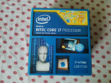 Procesor Intel Haswell, Core i7 4790K 4.0GHz socket 1150., Intel Core i7