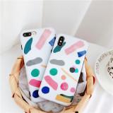 Husa pentru iPhone Moderna, Colorata, Moale