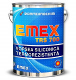 "Vopsea Siliconica Termorezistenta ""EMEX TRS 700"", Negru, Bidon 4 KG"