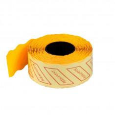 Etichete preț color – 1000/rolă portocaliu