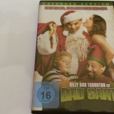 Bad santa - dvd, Engleza