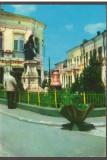 CPIB 17710 CARTE POSTALA - ODOBESTI. MONUMENTUL EROILOR, Circulata, Fotografie