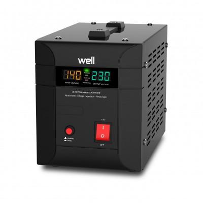 Stabilizator automat de tensiune Well Agile, 2000VA/1400W foto