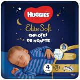 Scutece Huggies Chilotel de nopate Elite Soft Overnight Pants, nr 4, 9-14 kg, 19 buc