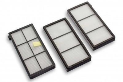 Hepa (allergie-) filter-set pentru irobot roomba 800er serie (3x), , foto