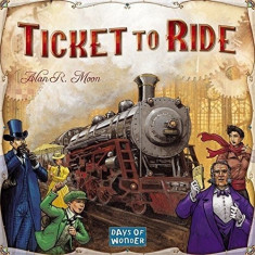 Set Jucarii Ticket To Ride Board Game