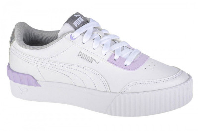Pantofi pentru adidași Puma Carina Lift Shine 380552-01 alb foto