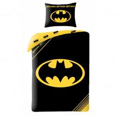 Lenjerie de pat copii Cotton Batman BM-4001BL