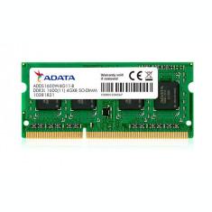 Memorie laptop ADATA Premier 4GB DDR3L 1600 MHz CL11