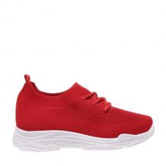 Pantofi sport copii Linsay rosii