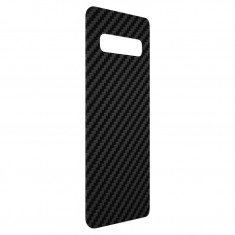Skin Samsung Galaxy S10 Plus, ZAGG InvisibleShield Carbon Feel, 3M, Black