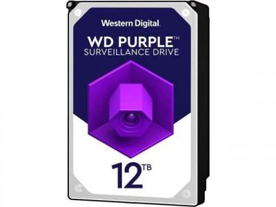 Hdd intern wd purple 3.5 12tb sata3 7200 rpm 256mb foto