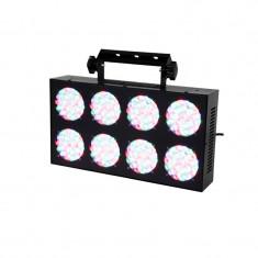 Panou RGB cu 192 LED-uri, DMX, 8-eyes, 30 W