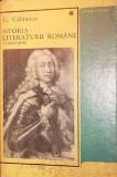 ISTORIA LITERATURII ROMANE (COMPENDIUM) - CALINESCU G.