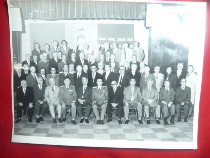 Fotografie la Reuniune a Absolventilor Academiei Miliare sectia Tancuri- Auto