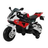 Homcom Motoreta Electrica pentru Copii BMW RR 12V, Negru si Rosu