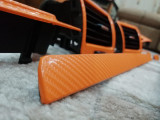 Folie carbon 4d Portocalie Lucioasa