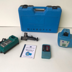 Nivela Laser Rotativa MIKROFYN ML 10