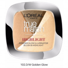 Pudra iluminatoare Loreal True Match Highlight Golden Glow