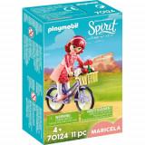 Set de Constructie Maricela si Bicicleta - Spirit, Playmobil