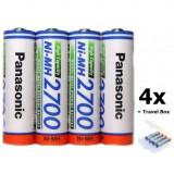 AA 2700mAh baterii reincarcabile capacitate inalta Conținutul pachetului 1x Blister, Panasonic