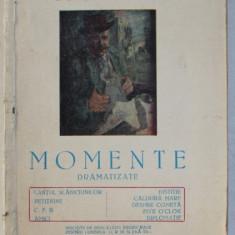 MOMENTE DRAMATIZATE de I.L. CARAGIALE