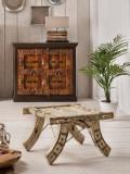 Cabinet colonial cu două uși Hawa