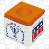 Creta biliard Silver Cup, portocaliu,12 buc