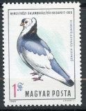 B1652 - Ungaria 1969 - Pasari.neuzat,perfecta stare