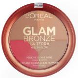 Cumpara ieftin Paleta L Oreal Glam Bronze La Terra Healthy Glow, 01 Light Laguna, 6g