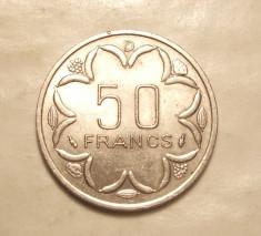 AFRICA CENTRALA 50 FRANCI 1976 D - UNC / GABON foto