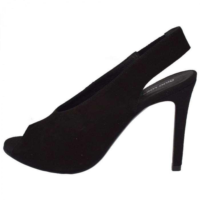 Sandale dama, din piele naturala, marca Gino Rossi, DN1254-AP2-01-32, negru 37