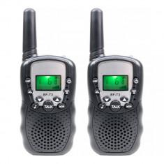 Aproape nou: Statie radio portabila PNI PMR R45, Ecran LCD, Vox, Lanterna, Set cu 2